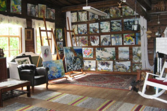 Rautalampi - Korholan Kartano : Gallery in the Rautalampi - Korholan Kartano Hostel in Finland