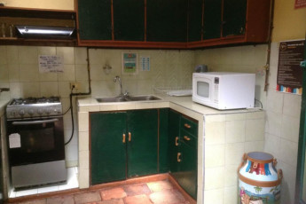 Bogota - Chocolate Hostel : Kitchen at the Bogota - Chocolate Hostel in Columbia