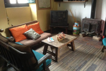 Bogota - Chocolate Hostel : Lounge at the Bogota - Chocolate Hostel in Columbia