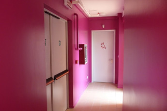 Turin - Torino : Hallway in Turin - Turin Hostel, Italy