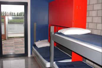 Brugge Dudzele Herdersbrug : Dorm room in the Brugge Dudzele Herdersbrug hostel in Belgium