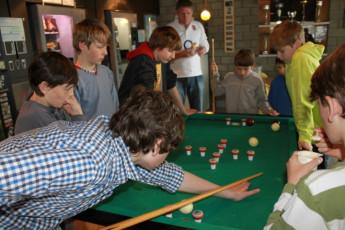 Brugge Dudzele Herdersbrug : Guests in lounge at the Brugge Dudzele Herdersbrug hostel in Belgium