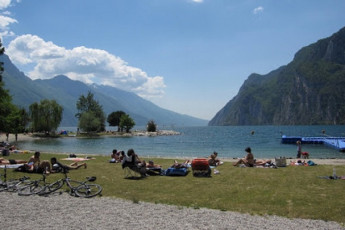 Riva del Garda - Benacus : Beach and Lake Local to Riva del Garda - Benacus, Italy