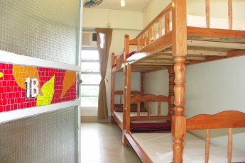 YHA Hong Kong - Bradbury Jockey Club : Twin Zimmer in Youth Hostel Association Hong Kong - Bradbury Jockey Club, Hong Kong