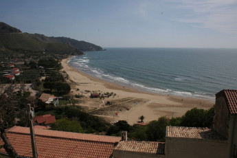 Sperlonga : View of Beach Local to Sperlonga Hostel, Italy