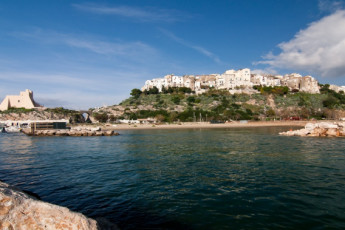 Sperlonga : View of Landscape Surrounding Sperlonga Hostel, Italy