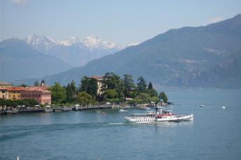 Lake Como - Menaggio - La Primula : View of Landscape surrounding Lake Como, Menaggio - The Primula Hostel, Italy