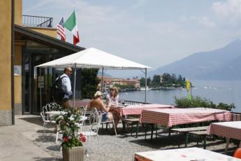 Lake Como - Menaggio - La Primula : Garden at Lake Como, Menaggio - The Primula Hostel, Italy