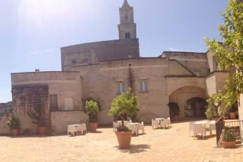 Matera - Le Monacelle : Exterior View of Matera - Le Monacelle Hostel, Italy