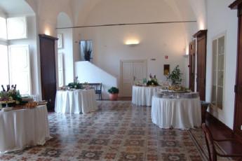 Matera - Le Monacelle : Dining Area in Matera - Le Monacelle Hostel, Italy