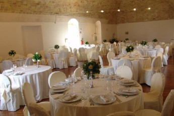 Matera - Le Monacelle : Inside Dining Area for Special Events at Matera - Le Monacelle Hostel, Italy