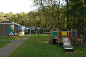 Bokrijk/Genk : Exterior of the Bokrijk/Genk hostel in Belgium