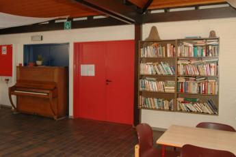 Bokrijk/Genk : Libary in the Bokrijk/Genk hostel in Belgium