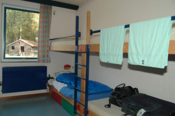 Bokrijk/Genk : Dorm room in the Bokrijk/Genk hostel in Belgium