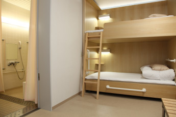 Osaka - Shin-Osaka YH : Dorm Room in Osaka - Shin-Osaka Youth Hostel, Japan