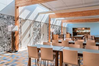 Stayokay Egmond : Dining Area in Stayokay Egmond Hostel, Netherlands