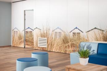 Stayokay Egmond : Reception Seating Area in Stayokay Egmond Hostel, Netherlands