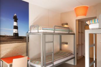 Stayokay Egmond : Dorm Room in Stayokay Egmond Hostel, Netherlands