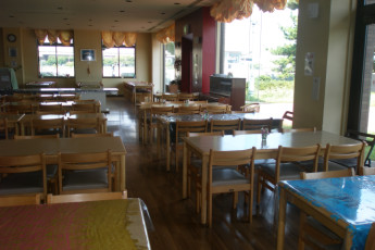 Osaka - Osaka International YH : Dining Area in Osaka - Osaka International Youth Hostel, Japan
