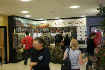 Belfast International : Cafe Area in Belfast International Hostel, Northern Ireland
