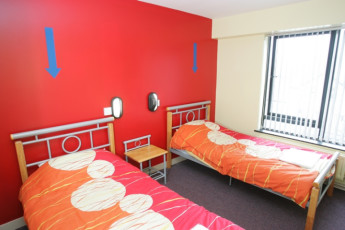 Belfast International : Standard Twin Room in Belfast International Hostel, Northern Ireland