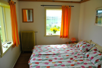Ytra Lón : Twin Bedroom in Ytra Lon Hostel, Iceland