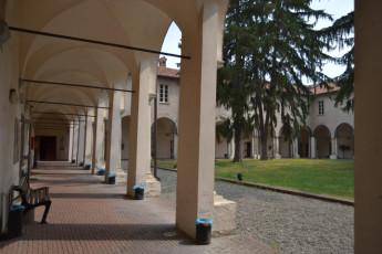 Alessandria - Santa Maria Di Castello : Courtyard in Alessandria - Santa Maria Di Castello Hostel, Italy