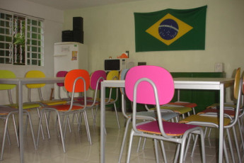Joinville - Joinville Hostel : Dining Area in Joinville - Joinville Hostel, Brazil