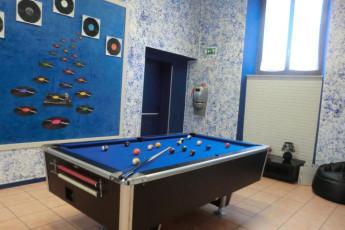 Perugia - Mario Spagnoli : Pool Table in Perugia - Mario Spagnoli Hostel, Italy