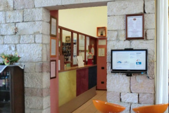 Perugia - Mario Spagnoli : Reception Area in Perugia - Mario Spagnoli Hostel, Italy