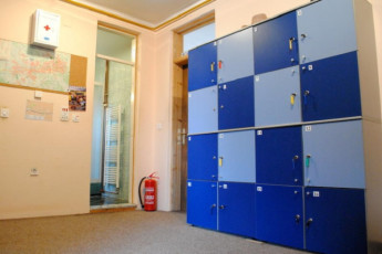 Sarajevo - Haris Youth Hostel : Lockers in Sarajevo - Haris Youth Hostel