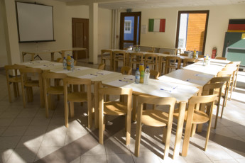 Larochette : Meeting and Conference Room in Larochette Hostel, Luxembourg