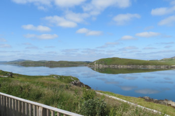 Isle of Lewis - Ravenspoint : Lake Surrounding Isle of Lewis - Ravenspoint Hostel, Scotland