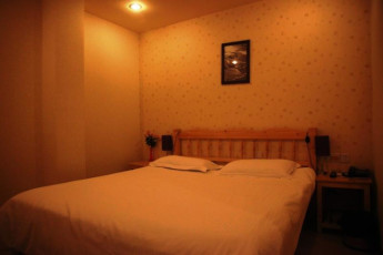 Shanghai Blue Mountain Youth Hostel : Double Bedroom in Shanghai Blue Mountain Youth Hostel, China