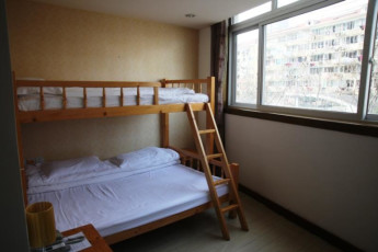 Shanghai Blue Mountain Youth Hostel : Dorm Room in Shanghai Blue Mountain Youth Hostel, China