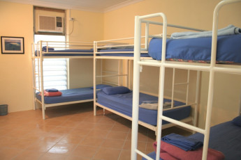 Rockhampton YHA : Dorm room in the Rockhampton YHA in Australia
