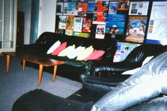 Tamworth YHA : Lounge in the Tamworth YHA in Australia