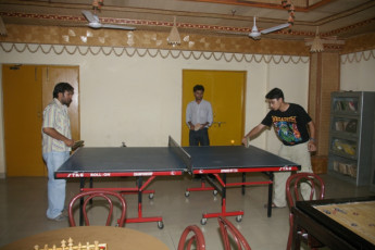 New Delhi : Table Tennis in Recreation Hall at New Delhi, India