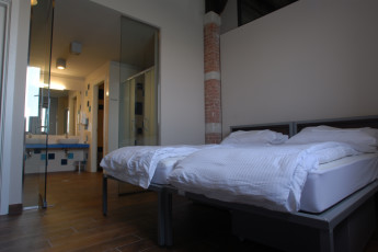 Venice - Venezia : Double Bedroom in Venice - Venezia Hostel, Italy