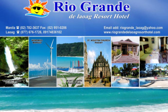 Rio Grande De Laoag Resort Hotel : Local Attractions at Rio Grande De Laoag Resort Hotel Hostel, Philippines