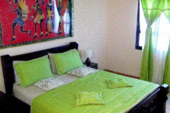 Santa Marta - The Dreamer Hostel : Private double room at the Santa Marta - The Dreamer Hostel in Columbia