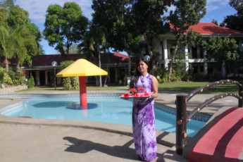 Rio Grande De Laoag Resort Hotel : Pool Area at Rio Grande De Laoag Resort Hotel Hostel, Philippines