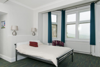 YHA Grinton Lodge : Private double room at the YHA Grinton Lodge hostel in England