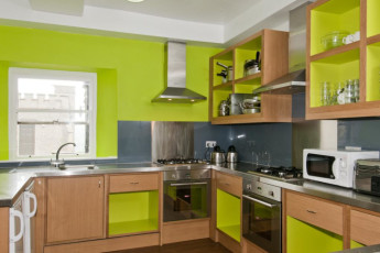 YHA Grinton Lodge : Kitchen in the YHA Grinton Lodge hostel in England