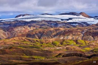 Árnes : paisaje que rodea Arnes Hostel, Islandia