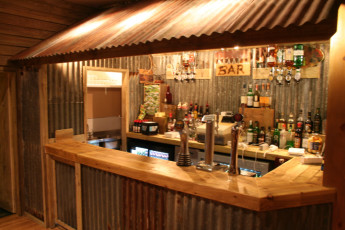Morag's Lodge : Bar Area in Morags Lodge Hostel, Scotland