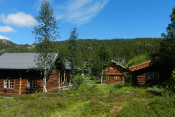 Gaustatoppen Hostel : Exterior View of Gaustatoppen Vandrerhjem Hostel, Norway