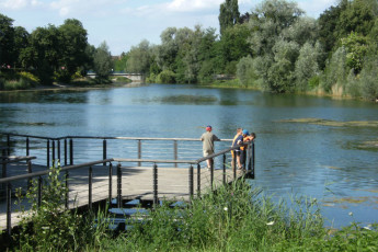 Kehl : lago en Kehl Hostel, Alemania