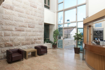 Jerusalem - Agron : Reception of the Jerusalem - Agron hostel in Israel