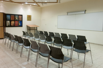 Jerusalem - Agron : Conference room in the Jerusalem - Agron hostel in Israel